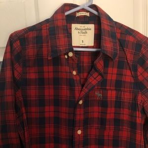 a8783bc58 Abercrombie & Fitch Shirts - Abercrombie & Fitch flannel button down shirt